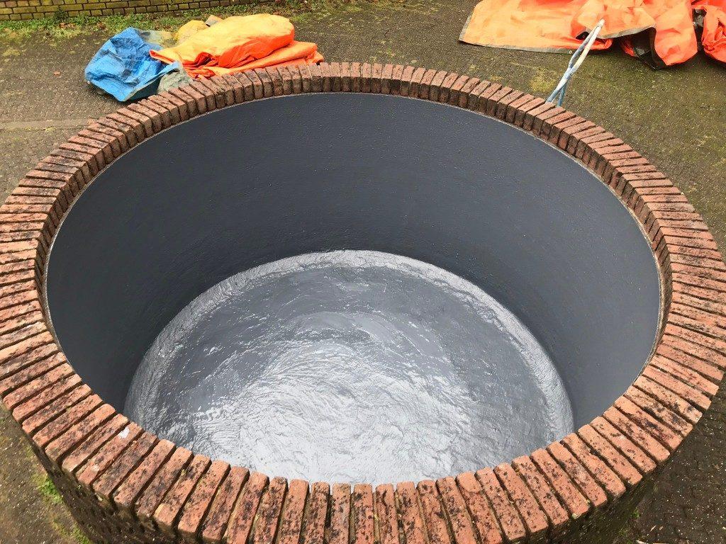 Water dichtende coating
