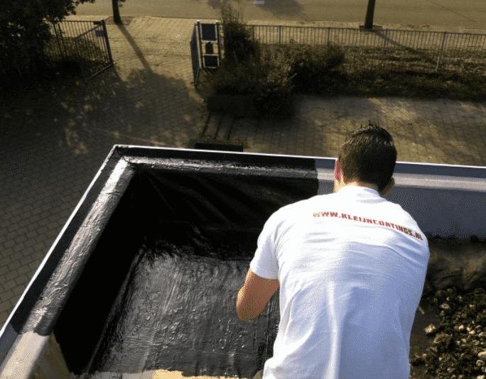 Reparatie coating